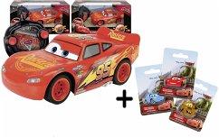 3x1 Dickie RC Lightning McQueen Cars 3 + Schlüs...