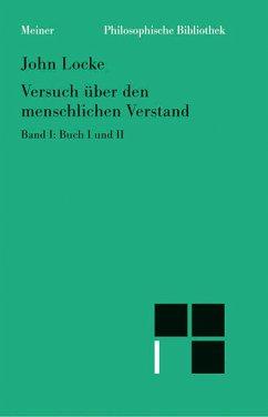 Versuch über den menschlichen Verstand. Band I (eBook, PDF) - Locke, John