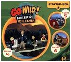 Go Wild! - Mission Wildnis - Starter-Box, 3 Audio-CD