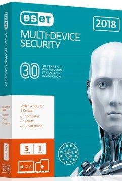 ESET Multi-Device Security 2018 Edition (5Gerät...