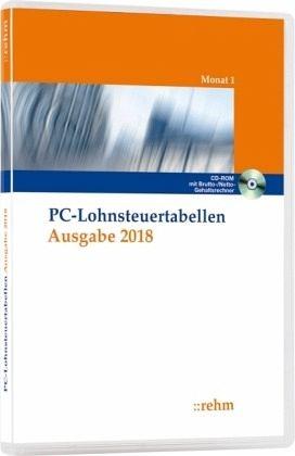 Pc Lohnsteuertabellen Ausgabe 2018 Cd Rom 1 Cd Rom Software