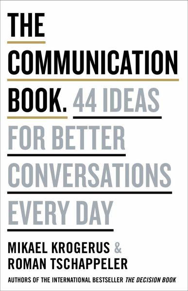 The Communication Book - Krogerus, Mikael; Tschäppeler, Roman