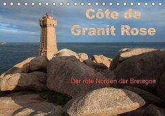 Côte de Granit Rose - Der rote Norden der Bretagne (Tischkalender 2018 DIN A5 quer)