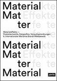 Materialeffekte-Produktentwürfe, Fotografien, Versuchsanordnungen