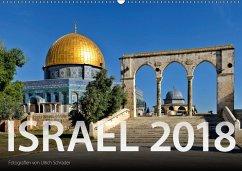 Israel 2018 (Wandkalender 2018 DIN A2 quer)