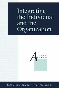 Integrating the Individual and the Organization (eBook, PDF)