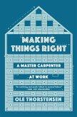 Making Things Right (eBook, ePUB)