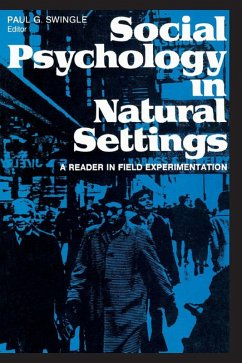Social Psychology in Natural Settings