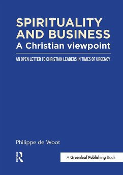 Spirituality and Business: A Christian Viewpoint (eBook, ePUB) - Woot, Philippe De
