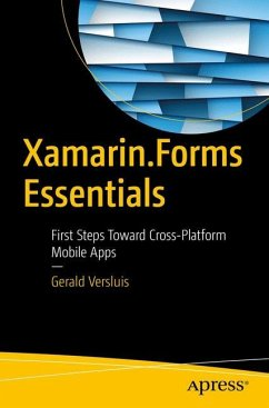 Xamarin.Forms Essentials - Versluis, Gerald