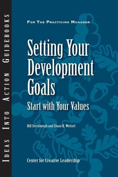 Setting Your Development Goals: Start with Your Values (eBook, ePUB)