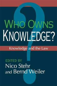 Who Owns Knowledge? (eBook, PDF)