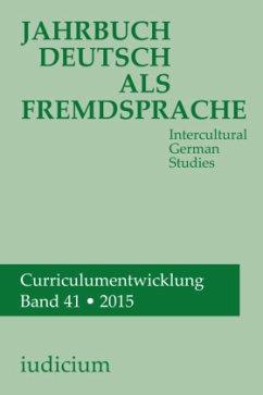 Jahrbuch Deutsch als Fremdsprache Band 41, 2015