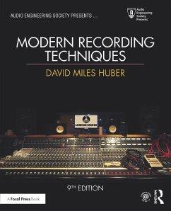 Modern Recording Techniques (eBook, PDF) - Runstein, Robert E.; Huber, David Miles