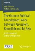 The German Political Foundations' Work between Jerusalem, Ramallah and Tel Aviv
