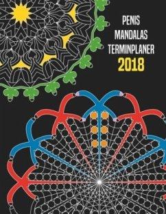 Penis Mandalas Terminplaner 2018
