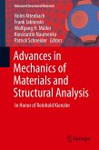 Advances in Mechanics of Materials and Structural Analysis