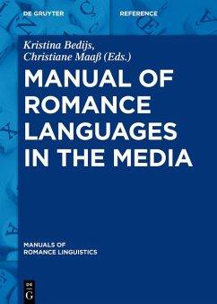 Manual of Romance Languages in the Media (eBook, ePUB)