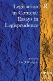 Legislation in Context: Essays in Legisprudence (eBook, ePUB)