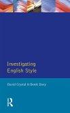 Investigating English Style (eBook, ePUB)