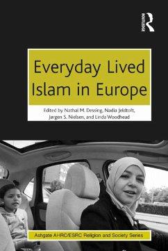 Everyday Lived Islam in Europe (eBook, ePUB)