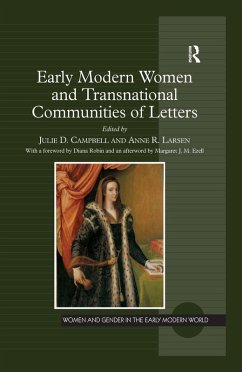 Early Modern Women and Transnational Communities of Letters (eBook, ePUB)