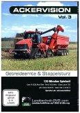 Ackervision - Getreideernte & Stoppelsturz. Vol.3, 1 DVD