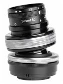 Lensbaby Composer Pro II incl. Sweet 80 Optic Objektiv für Sony E-Mount (46 mm Filtergewinde, Vollformat / APS-C Sensor)