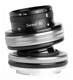Lensbaby Composer Pro II incl. Sweet 80 Optic Canon EF Objektiv für Canon (46 mm Filtergewinde, Vollformat / APS-C Sensor)