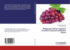 Redgrape extract against nicotine induced oxidative stress