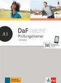 DaF leicht A1. Prüfungstrainer mit Audios