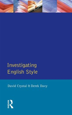 Investigating English Style (eBook, PDF)