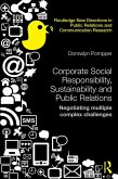 Corporate Social Responsibility, Sustainability and Public Relations (eBook, ePUB)