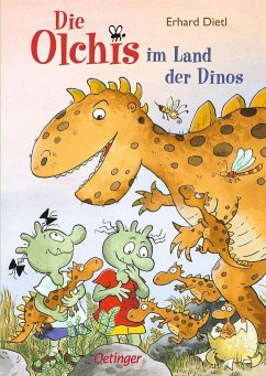 Die Olchis im Land der Dinos / Die Olchis Erstleser Bd.1 - Dietl, Erhard