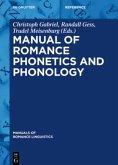 Manual of Romance Phonetics and Phonology