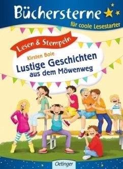 Lesen & Stempeln. Lustige Geschichten aus dem Möwenweg - Boie, Kirsten