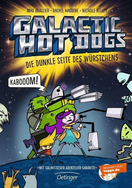 Buch-Reihe Galactic Hot Dogs