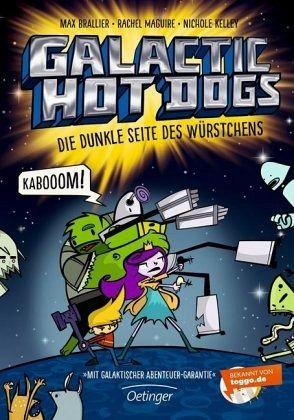 Buch-Reihe Galactic Hot Dogs