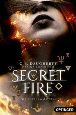 Die Entflammten / Secret Fire Bd.1 - Daugherty, C. J.;Rozenfeld, Carina
