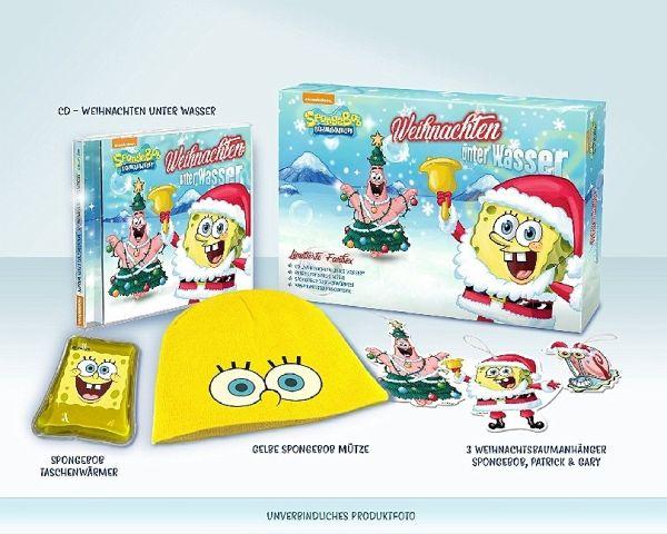 Die Schlümpfe Weihnachtslieder.Spongebob Schwammkopf Weihnachten Unter Wasser 1 Audio Cd Limitierte Fanbox
