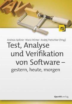 Test, Analyse und Verifikation von Software - g...