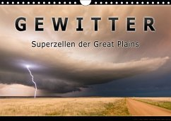 Gewitter - Superzellen der Great Plains (Wandkalender 2018 DIN A4 quer)