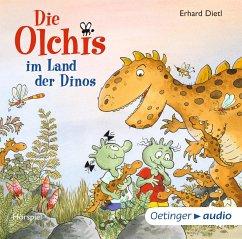 Die Olchis im Land der Dinos / Die Olchis Erstleser Bd.1 (1 Audio-CD) - Dietl, Erhard