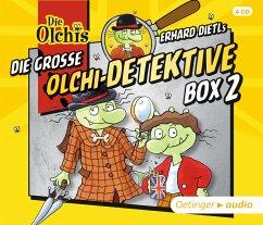 Die große Olchi-Detektive Box 2, 4 Audio-CDs - Iland-Olschewski, Barbara;Dietl, Erhard