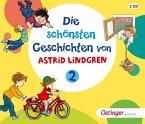 Die schönsten Geschichten von Astrid Lindgren 2, 3 Audio-CDs