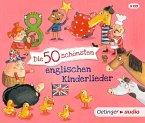 Die 50 schönsten englischen Kinderlieder, 3 Audio-CDs