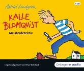 Kalle Blomquist Meisterdetektiv, 4 Audio-CD
