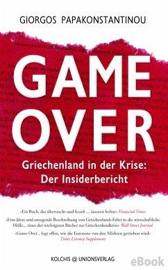 Game Over (eBook, ePUB) - Papakonstantinou, Giorgos