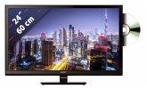 Sharp LC-24DHF4012E 60 cm (24 Zoll) Fernseher (HD ready, DVB-T2/ DVB-S2/ DVB-C)