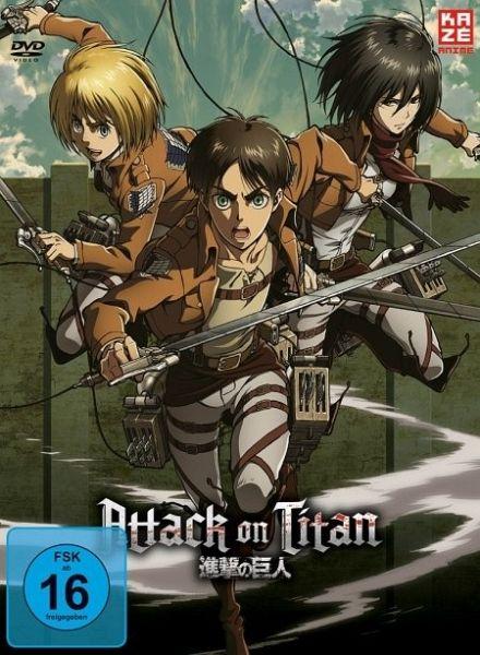 Attack On Titan Staffel 1 Deutsch